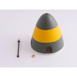 "CONE ALU TRIPALE 89"" P-51D MUSTANG GUNFIGHTER 2260MM TOP RC"