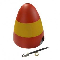 "CONE ALU BIPALE 89"" P-51D MUSTANG OLD CROW 2260MM TOP RC"