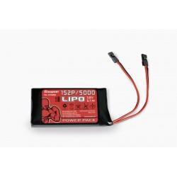 Accu LiPo 5000mAh 1S 3.8V pour émetteur Graupner