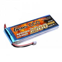 Accu LiPo GENS ACE 2500mAh 2S 25C