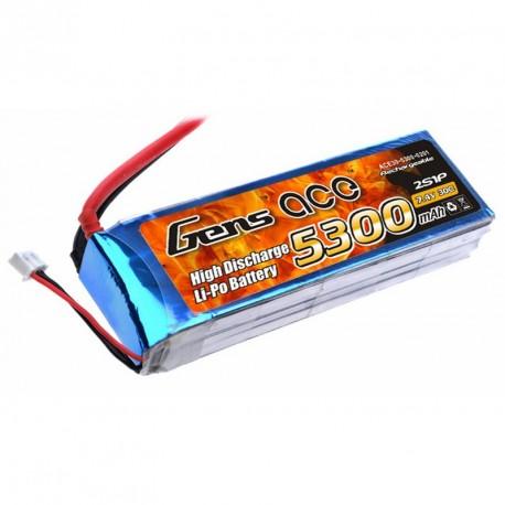 Accu LiPo GENS ACE 5300mAh 2S 30C