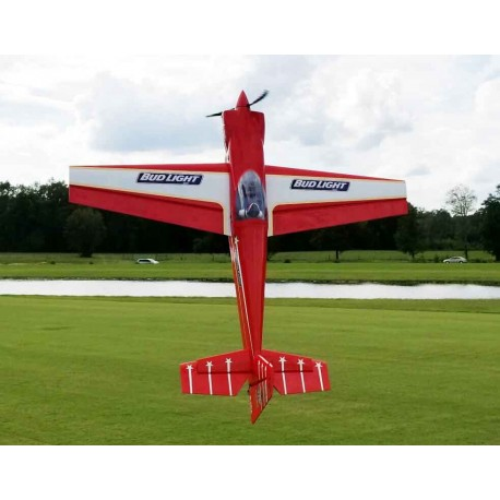 "LASER 104""  ARF EXTREME FLIGHT ROUGE"