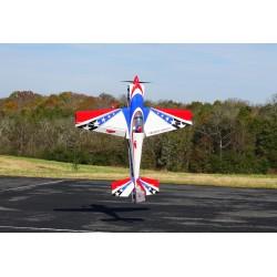 "LASER 104"" ARF EXTREME FLIGHT IMPRIME (rouge/blanc/bleu)"