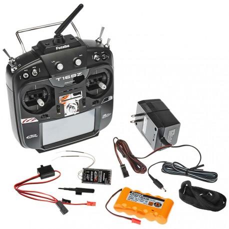 RADIO 16SZ R7008SB ACCU TX MODE 1 + 1 RECEPTEUR R7008SB FUTABA