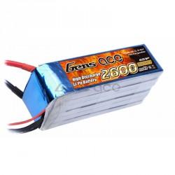 Accu LiPo GENS ACE 2700mAh 6S 45C