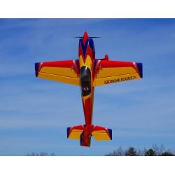 """EXTRA 300 104"""" V2 ARF EXTREME FLIGHT JAUNE/ROUGE/BLEU"""