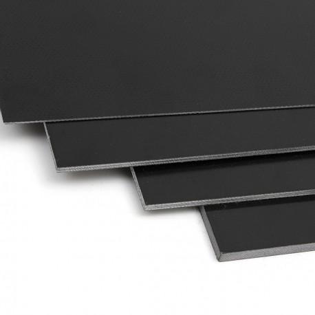 PLAQUE FIBRE DE VERRE NOIRE 400 x 200 x 1.5mm