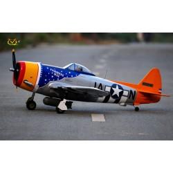 P-47D THUNDERBOLT TARHEEL HAL 1500MM ARF VQ MODEL