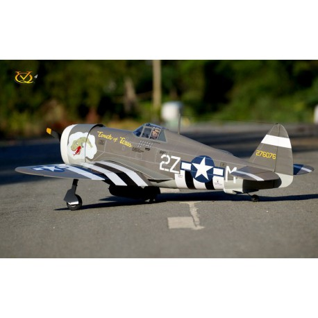 P-47B THUNDERBOLT TOUCH OF TEXAS 1500MM ARF VQ MODEL