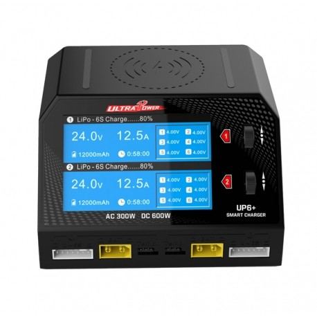 Chargeur UP6+ DUO 200/220V - 600W