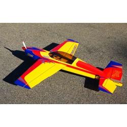 """EXTRA EXP 60""""  V2 jaune/ rouge/bleu  (1.52m) ARF"""