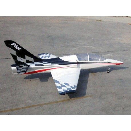 "DOLPHIN JET ARF + trains rentrants PILOT-RC 71"" (07)"