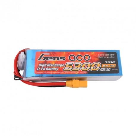 Accu LiPo GENS ACE 5300mAh 3S 45C