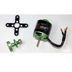 MOTEUR BRUSHLESS DM2210 Kv1700