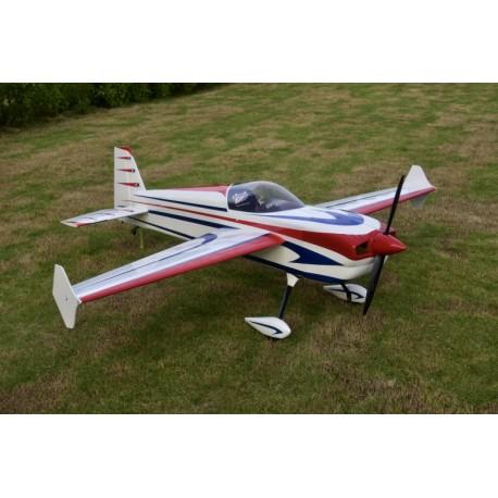 """SKYWING 89"""" LASER 260 V2 ARF 2260MM ROUGE/BLEU PRINTING"""