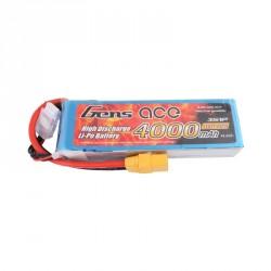Accu LiPo GENS ACE 4000mAh 3S 25C