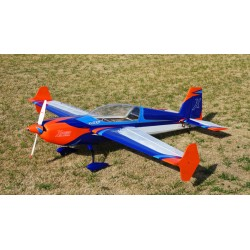 "EXTRA 300 78"" V3 Orange / Bleu (1.98m) ARF"