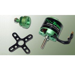 MOTEUR BRUSHLESS DM2815 Kv950 118g