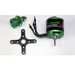 MOTEUR BRUSHLESS DM3625 Kv650 257g