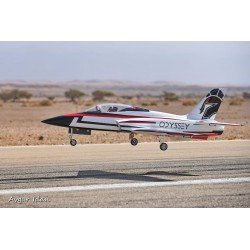 "SPORT JET ODYSSEY ""Blanc/noir/rouge"" 2190MM ARF TOP RC MODEL"