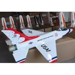 F-16 1:6 ARF 1630MM ThunderBird TOP RC MODEL