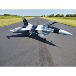 F-16 1:6 ARF 1630MM Camo Grey TOP RC MODEL