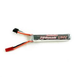 Accu lipo 260mAh 2S HV 30C Infinity