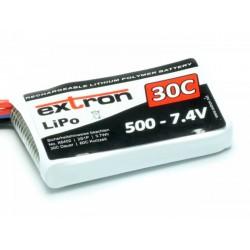 Accu LiPo EXTRON 500mAh 2S 30C