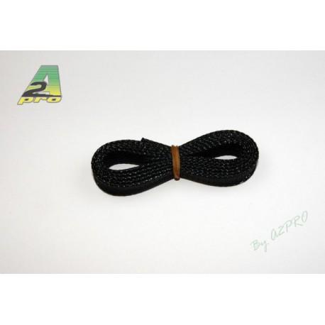 Gaine extensible noir diamètre 8mm