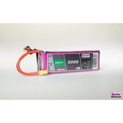 Accu LiPo TopFuel ECO-X 3000mAh 4S 20C MTAG