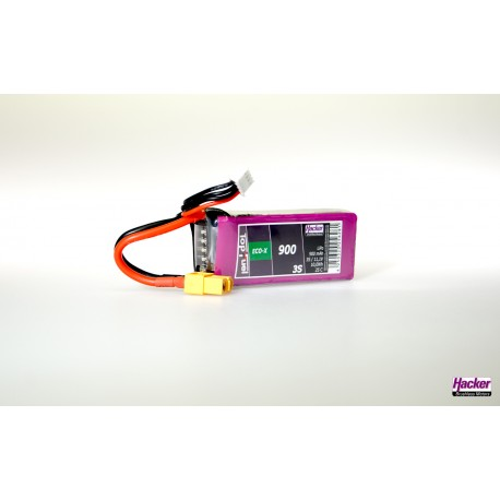 Accu LiPo TopFuel ECO-X 900mAh 3S 25C