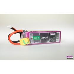 Accu LiPo TopFuel ECO-X 5000mAh 5S 20C MTAG