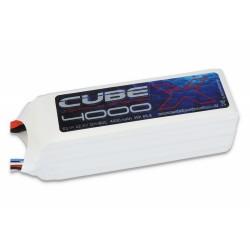 ACCU LIPO SLS X-CUBE 4000MAH 6S 30C