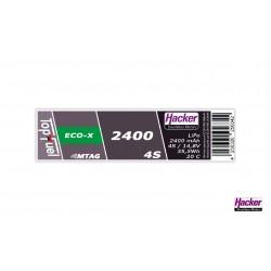 Accu LiPo TopFuel ECO-X 2400mAh 4S 20C MTAG