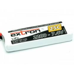 Accu LiPo EXTRON 2200mAh 2S 25C
