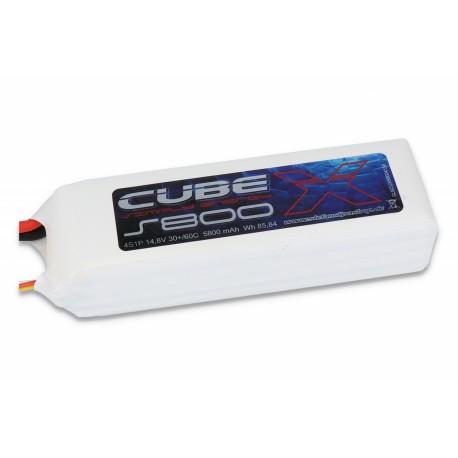 ACCU LIPO SLS X-CUBE 5800MAH 4S 30C