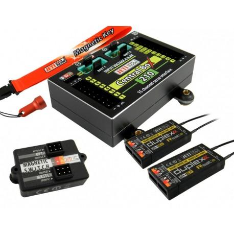 Central Box 210 + 2 RSAT JETI + Magnetic Switch