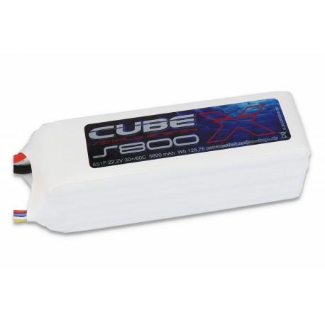 ACCU LIPO SLS X-CUBE 5800MAH 6S 30C