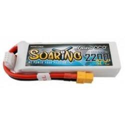 Accu LiPo GENS ACE SOARING 2200mAh 11.1V 30C 3S