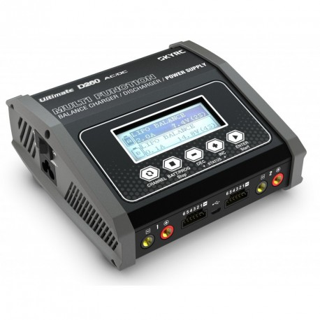 SkyRC D260 Duo AC/ DC Chargeur (2x130W)