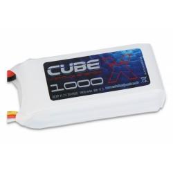 ACCU LIPO SLS X-CUBE 1000MAH 3S 30C