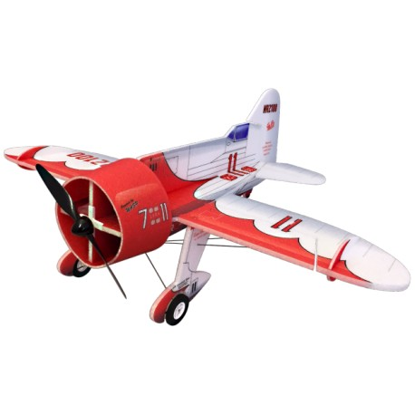 GEE BEE 800MM ROUGE ET BLANC RC FACTORY