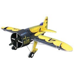 GEE BEE 800MM NOIR ET JAUNE RC FACTORY