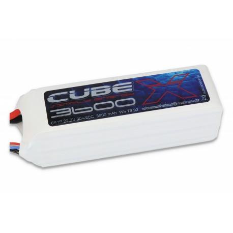 ACCU LIPO SLS X-CUBE 3600MAH 6S 30C
