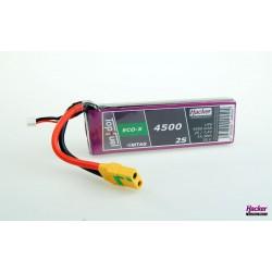 Accu LiPo TopFuel ECO-X 4500mAh 2S 20C MTAG