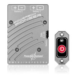 PowerBox Pioneer avec un interrupteur électronique