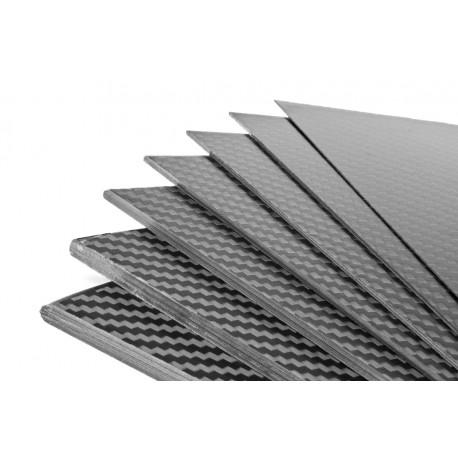 PLAQUE DE CARBONE 400 x 250 x 0.5mm