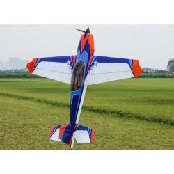 """EXTRA 300 EXP V2 48""""  Orange/Bleu  (1.22m) ARF EXTREME FLIGHT"""