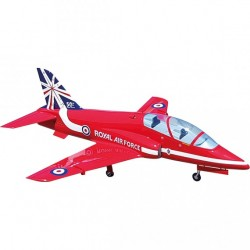 MINI BAE HAWK ARF 1400MM RED ARROWS SEBART