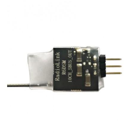 Récepteur R6DS Mini 2.4Ghz 10 voies PPM /SBUS RadioLink